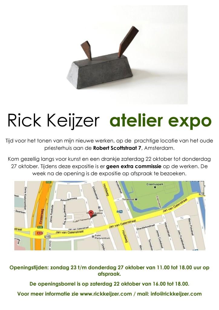 Atelier expo uitnodiging 2016