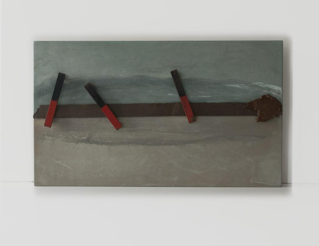 Ymmortal II, 2014. Staal, magneten. L 41,5cm B 68cm D 6cm